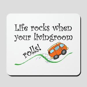 Life Rocks Mousepad