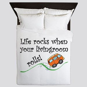 Life Rocks Queen Duvet