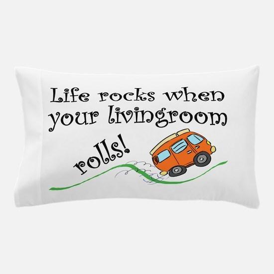 Life Rocks Pillow Case