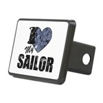I Love My Sailor Hitch Cover