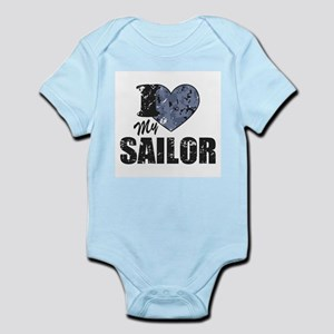 I Love My Sailor Body Suit