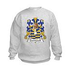 Garnault Family Crest  Kids Sweatshirt