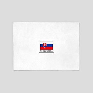 Slovakia 5'x7'Area Rug
