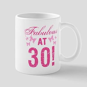 Fabulous 30th Birthday Mugs