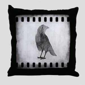 Soul Of Crow Throw Pillow