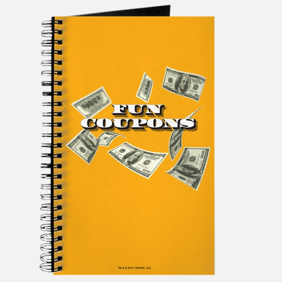 Wolf of Wall Street Fun Coupons Journal