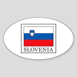Slovenia Sticker (Oval)