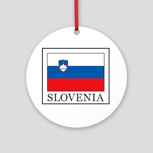 Slovenia Ornament (Round)