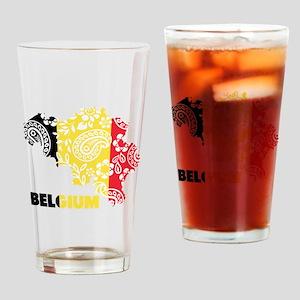 Belgium Paisley Drinking Glass