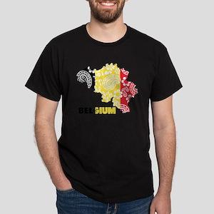 Belgium Paisley Dark T-Shirt