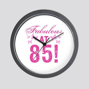 Fabulous 85th Birthday Wall Clock
