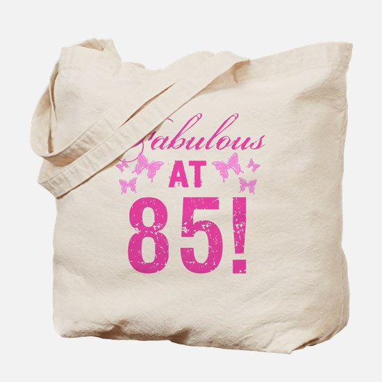 Fabulous 85th Birthday Tote Bag
