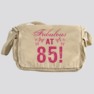 Fabulous 85th Birthday Messenger Bag
