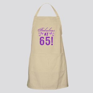 Fabulous 65th Birthday Apron