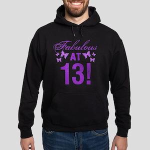 Fabulous 13th Birthday Hoodie (dark)