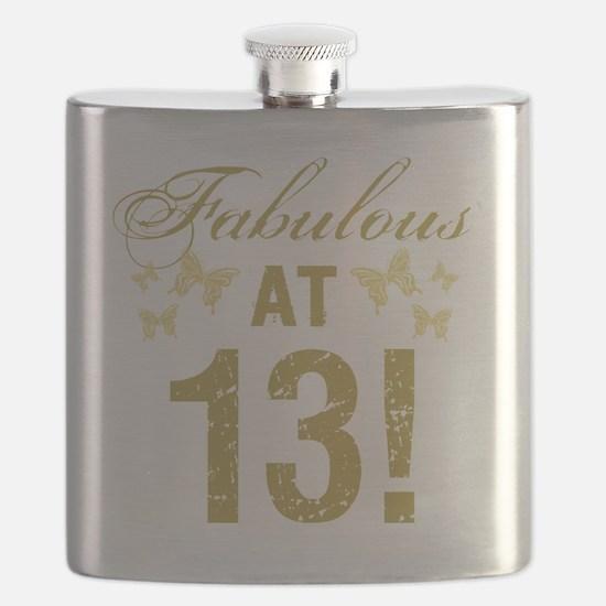 Fabulous 13th Birthday Flask