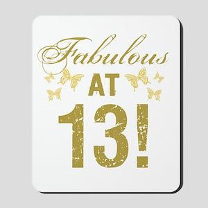 Fabulous 13th Birthday Mousepad