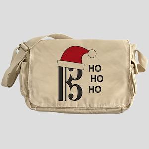 Clef Santa Messenger Bag