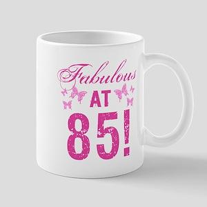Fabulous 85th Birthday Mugs