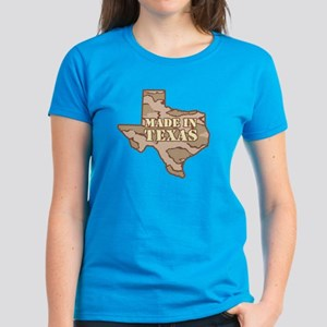 Made In Texas Women's Dark T-Shirt