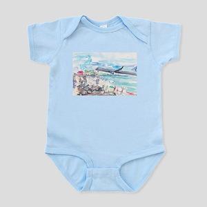 Sunset Beach SXM Infant Bodysuit