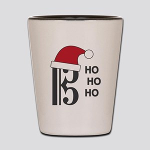 Clef Santa Shot Glass