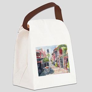 St Maarten Afternoon Canvas Lunch Bag