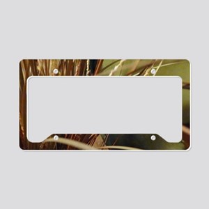 Wild Lily Grass License Plate Holder