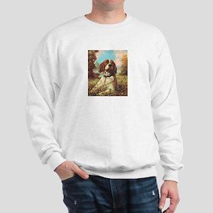 Vintage Brittany Spaniel Sweatshirt