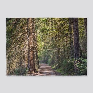 Afternoon in the Forest 5'x7'Area Rug