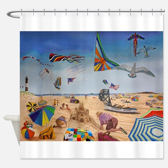 Robert Moses Beach Shower Curtain