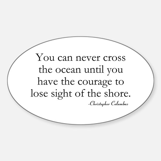 Courage Decal