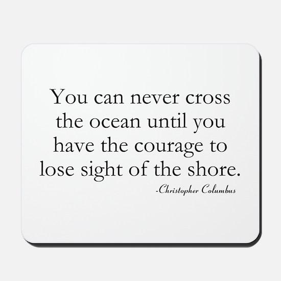 Courage Mousepad