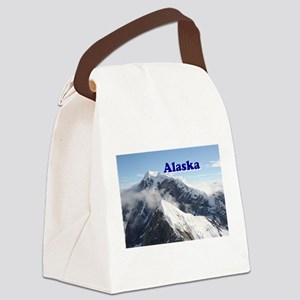 Alaska: Alaska Range, USA Canvas Lunch Bag