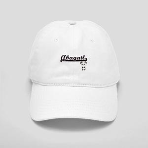 Abagail Classic Retro Name Design with Panda Cap