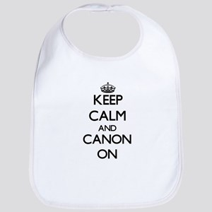 Keep Calm and Canon ON Bib