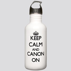 Keep Calm and Canon ON Stainless Water Bottle 1.0L