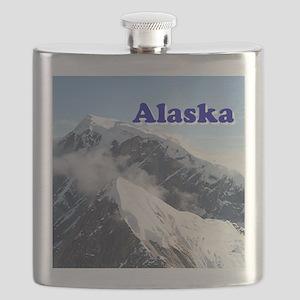 Alaska: Alaska Range, USA Flask