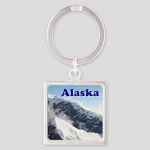 Alaska: Alaska Range, USA Keychains