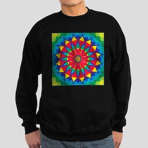 Vector Mandala cw9 Sweatshirt (dark)