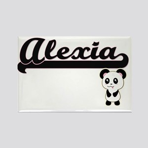 Alexia Classic Retro Name Design with Pand Magnets