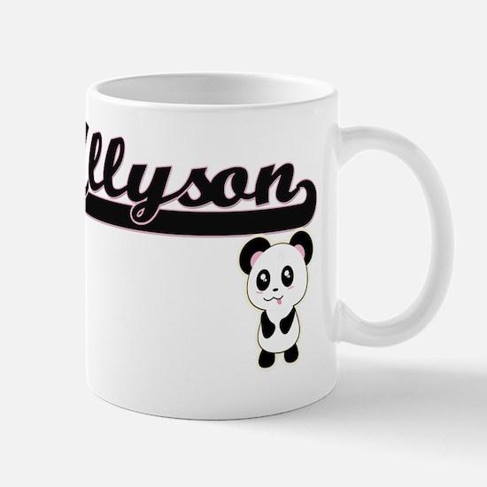Allyson Classic Retro Name Design with  Mug