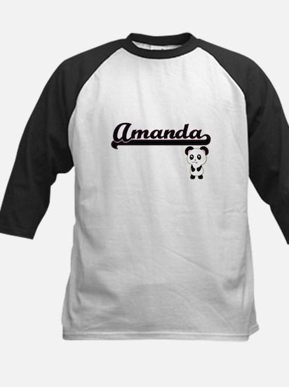 Amanda Classic Retro Name Design w Baseball Jersey