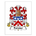 Fornier Family Crest Small Poster