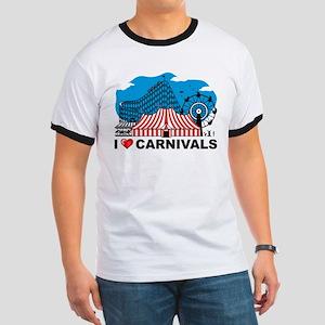 I Love Carnival Ringer T
