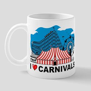 I Love Carnival Mug