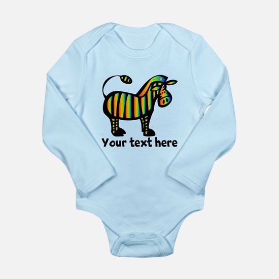 Feed Me Long Sleeve Infant Bodysuit