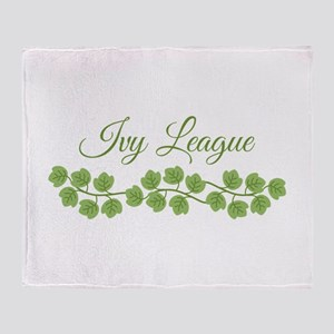 Ivy League Throw Blanket