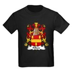 Fillion Family Crest Kids Dark T-Shirt