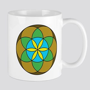Seed of Life Earth3 Mug
